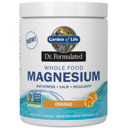 Garden of Life Dr. Formulated Whole Food Magnesium, 420 грамм