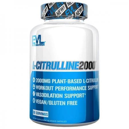 EVL L-Citrulline 2000, 90 вегакапсул