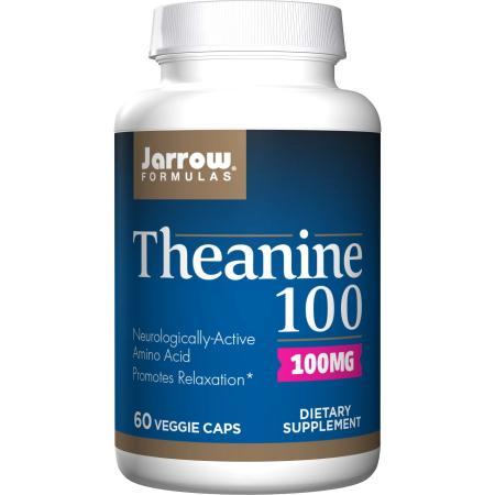 Jarrow Formulas Theanine 100 mg, 60 вегакапсул