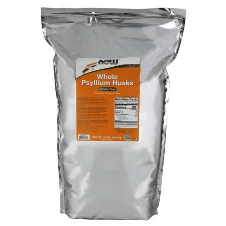 NOW Whole Psyllium Husks, 680 грамм
