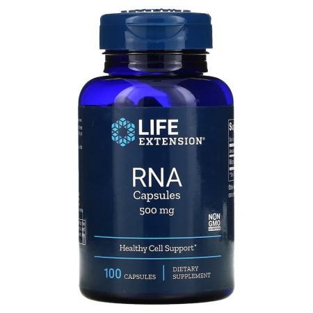 Life Extension RNA 500 mg, 100 капсул