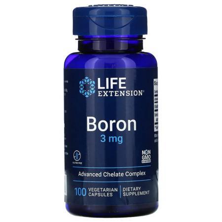 Life Extension Boron, 100 вегакапсул