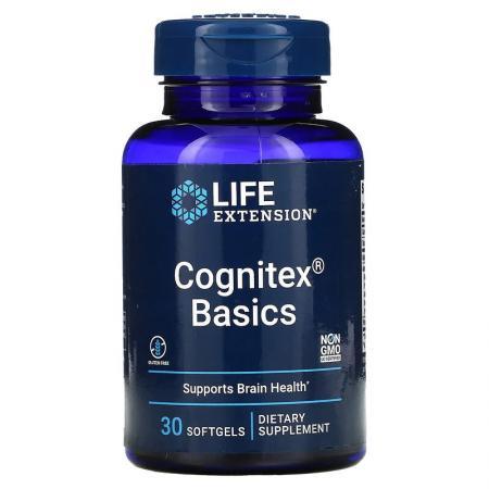 Life Extension Cognitex Basics, 30 капсул