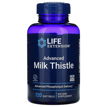 Life Extension Advanced Milk Thistle, 120 капсул