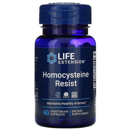 Life Extension Homocysteine Resist, 60 вегакапсул