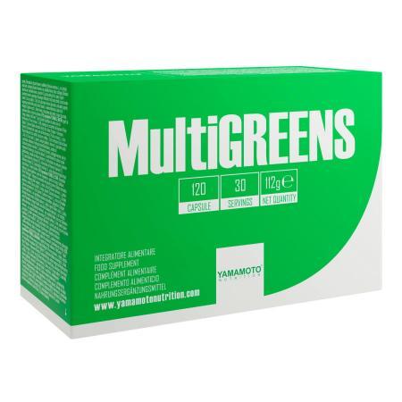 Yamamoto Multi Greens, 120 капсул
