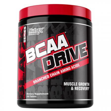 Nutrex Research BCAA Drive Black, 200 таблеток