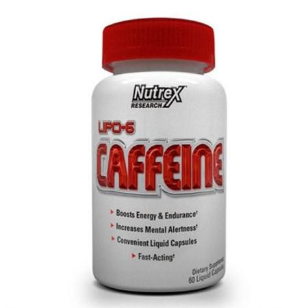 Nutrex Research Lipo-6 Caffeine, 60 капсул
