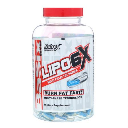 Nutrex Research Lipo-6 X, 240 капсул