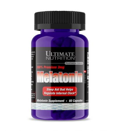 Ultimate Melatonin 100% Premium, 60 капсул