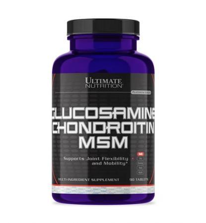 Ultimate Glucosamine Chondroitin MSM, 90 таблеток