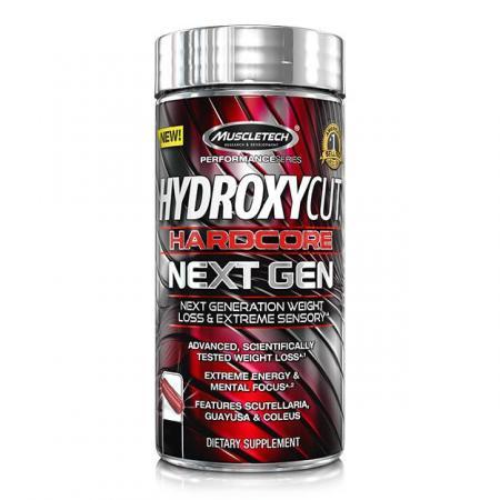 Muscletech Hydroxycut Hardcore Next Gen, 180 капсул