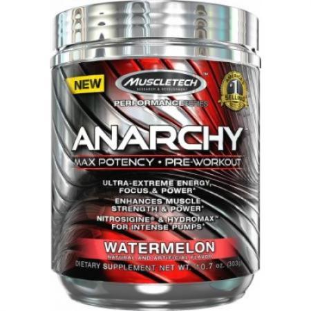 Muscletech Anarchy Yohimbe, 303 грамма