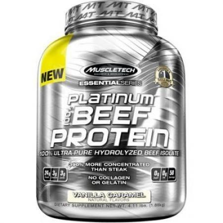 Muscletech Platinum 100% Beef Protein, 1.8 кг