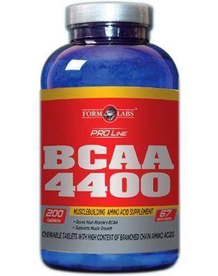 Form Labs BCAA 4400, 200 таблеток