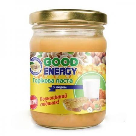 Good Energy Ореховая паста с медом, 250 грамм