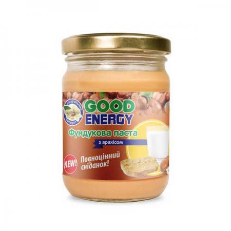 Good Energy Фундуковая паста с арахисом, 180 грамм