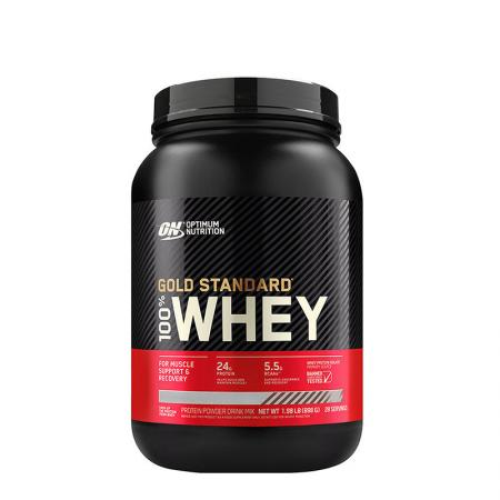 Optimum Gold Standard 100% Whey, 909 грамм