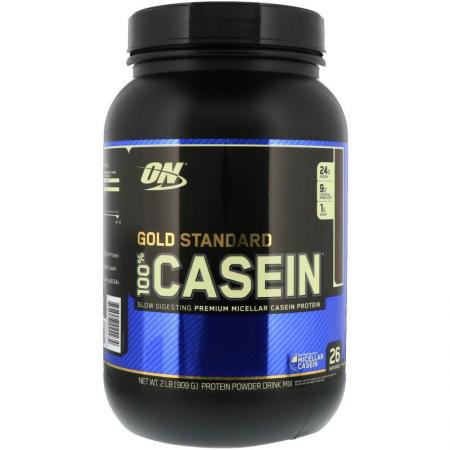 Optimum Gold Standard 100% Casein, 909 грамм