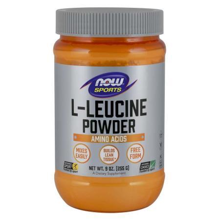 NOW L-Leucine Powder, 255 грамм