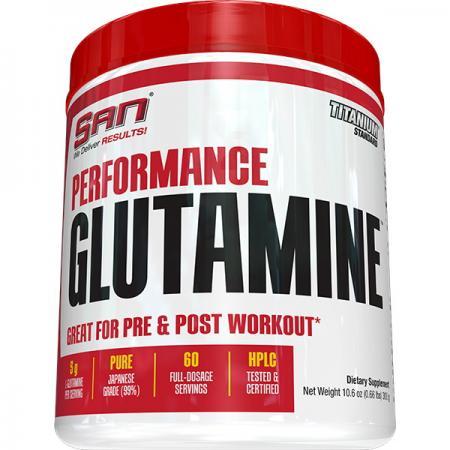 SAN Performance Glutamine, 300 грамм