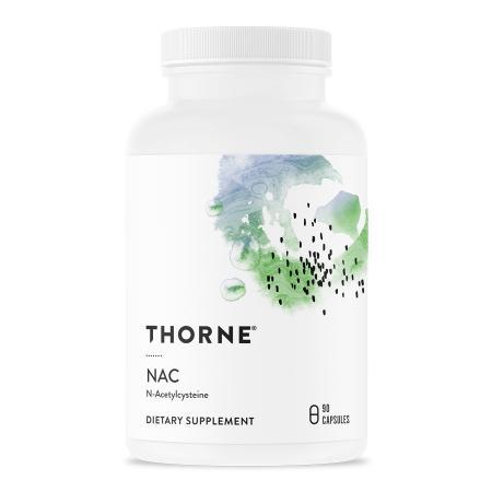 Thorne NAC (N-Acetyl-L-Cysteine), 90 капсул