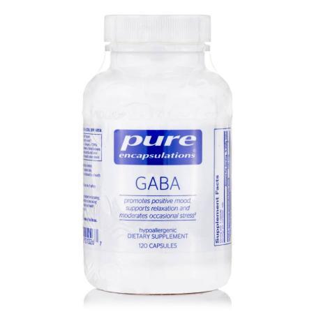 Pure Encapsulations GABA 700 mg, 120 капсул