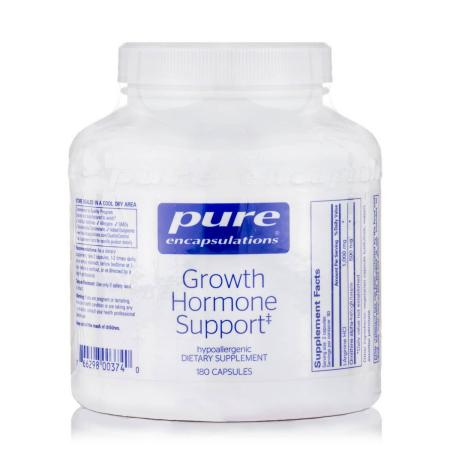 Pure Encapsulations Growth Hormone Support, 180 капсул