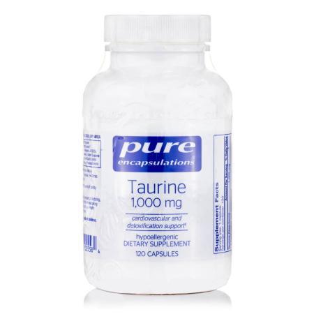 Pure Encapsulations Taurine 1000 mg, 120 капсул