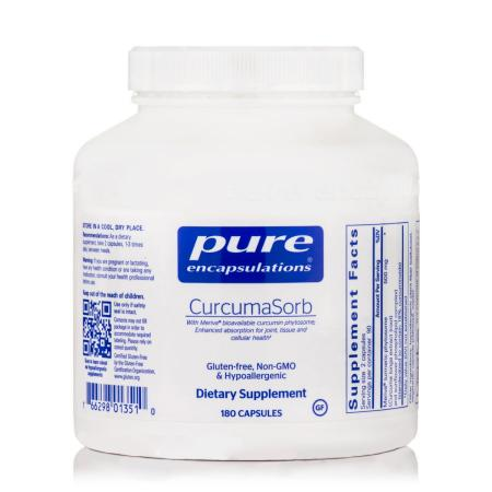 Pure Encapsulations CurcumaSorb, 180 капсул