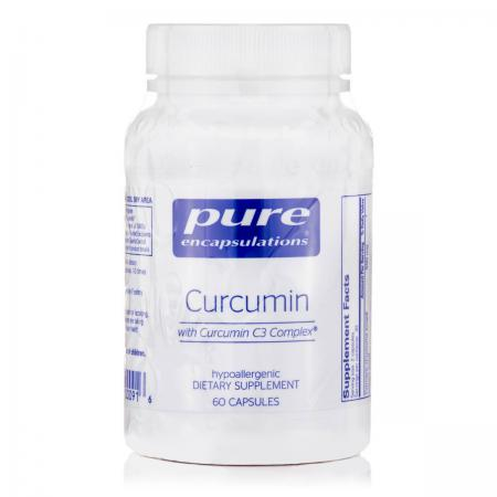 Pure Encapsulations Curcumin 250 mg, 60 капсул