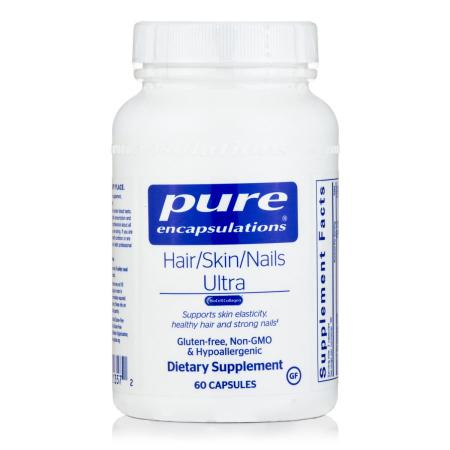 Pure Encapsulations Hair/Skin/Nails Ultra, 60 капсул