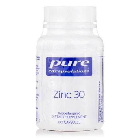 Pure Encapsulations Zinc 30 mg, 180 капсул