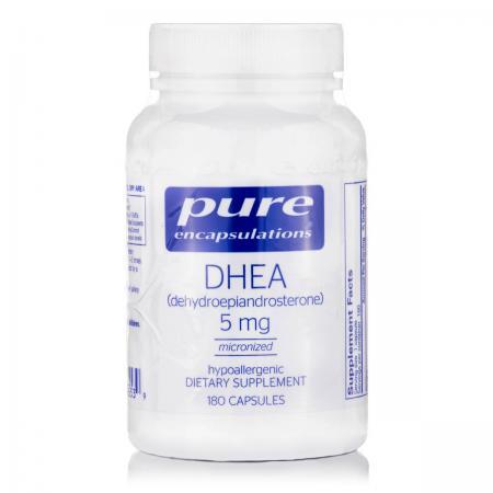 Pure Encapsulations DHEA 5 mg, 180 капсул