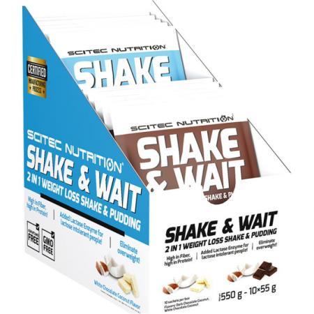 Scitec Shake & Wait, 10*55 грам