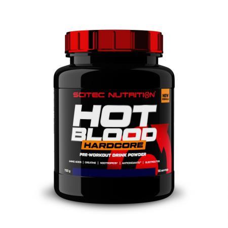Scitec Hot Blood Hardcore, 700 грамм