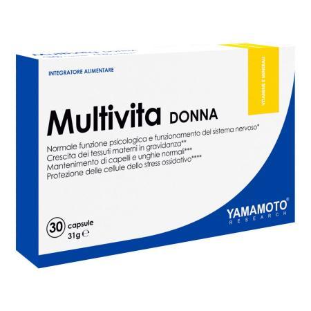 Yamamoto Multivita DONNA, 30 капсул