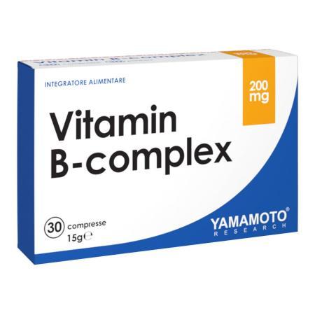 Yamamoto Vitamin B-Complex, 30 капсул
