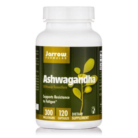 Jarrow Formulas Ashwagandha, 120 вегакапсул