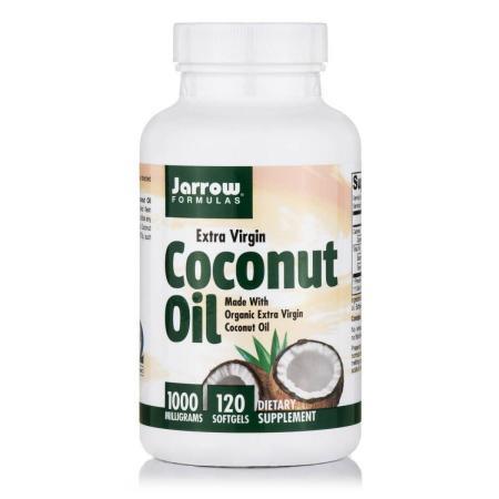 Jarrow Formulas Coconut Oil Extra Virgin, 120 капсул