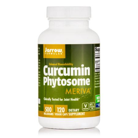 Jarrow Formulas Curcumin Phytosome, 120 вегакапсул
