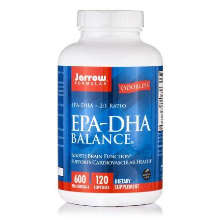 Jarrow Formulas EPA-DHA Balance, 120 капсул