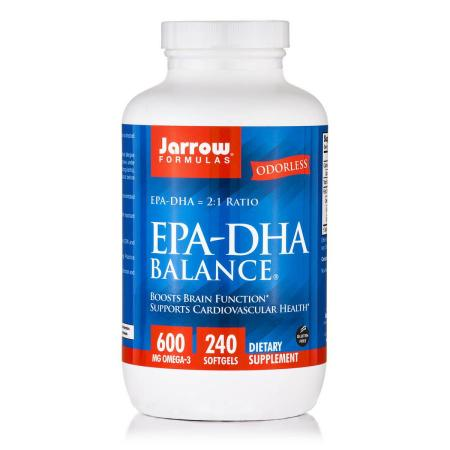 Jarrow Formulas EPA-DHA Balance, 240 капсул