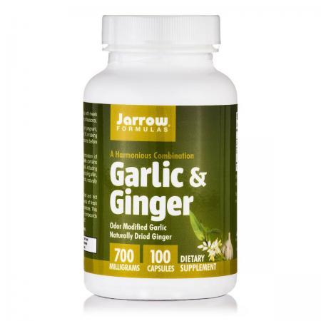 Jarrow Formulas Garlic & Ginger, 100 капсул