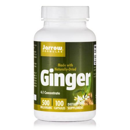 Jarrow Formulas Ginger, 100 капсул