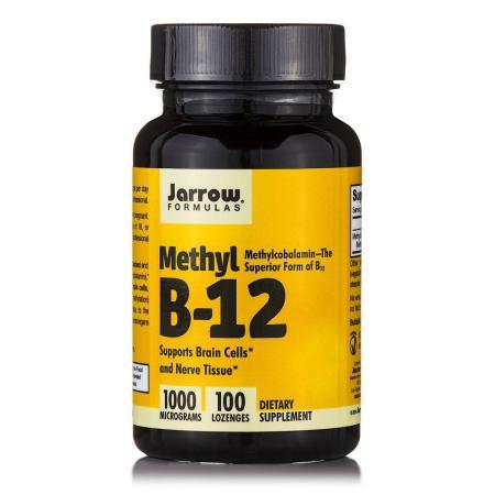 Jarrow Formulas Methyl B-12 1000 mcg, 100 леденцов