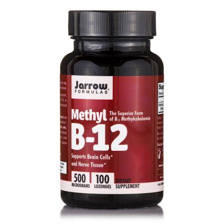 Jarrow Formulas Methyl B-12 500 mcg, 100 леденцов