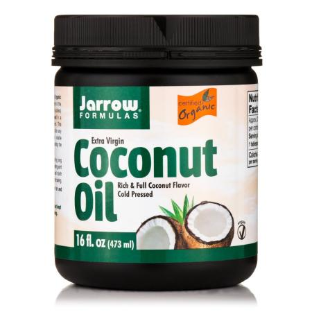 Jarrow Formulas Organic Extra Virgin Coconut Oil, 454 грамм