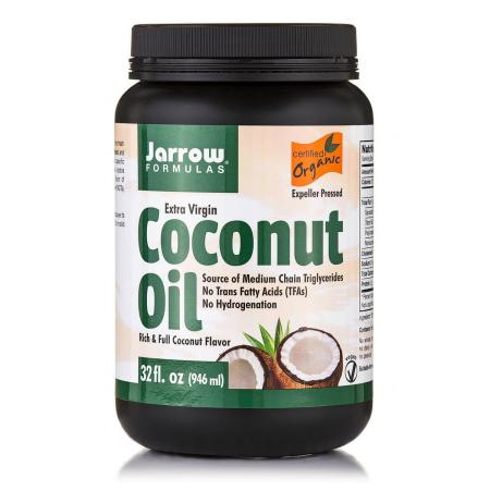 Jarrow Formulas Organic Extra Virgin Coconut Oil, 946 грамм