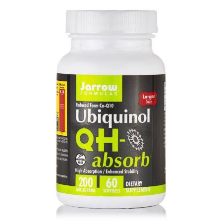 Jarrow Formulas Ubiquinol QH-Absorb 200 mg, 60 капсул
